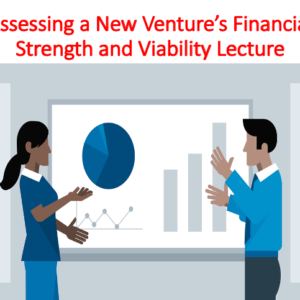 Buy Assessing a New Venture's Financial Strength and Viability Lecture