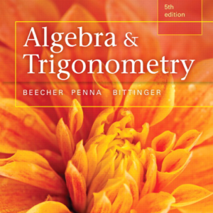 Test Bank for Algebra and Trigonometry 5th Edition
