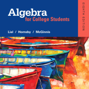 Test Bank for Algebra for College Students 8th Edition