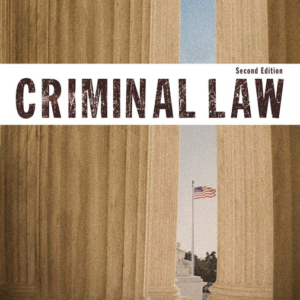 Test Bank for Criminal Law 2nd Edition