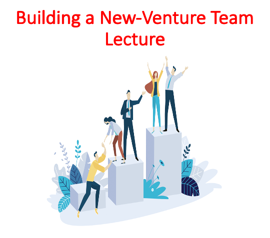 Buy Building a New-Venture Team Lecture