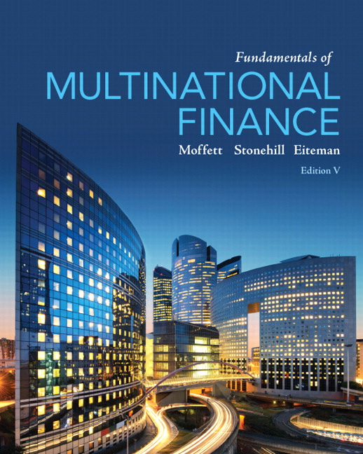 Buy Fundamentals of Multinational Finance 5th Edition