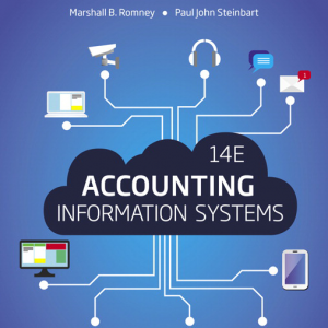Test Bank for Accounting Information Systems 14th Edition