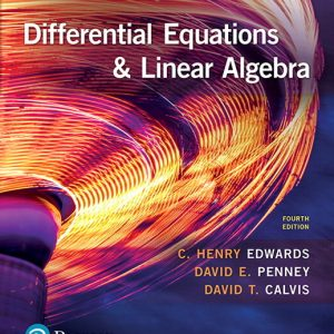 Buy Differential Equations and Linear Algebra 4th Edition Book