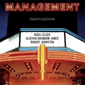 Buy Operations Management 8th Edition Book