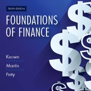 Buy Test Bank for Foundations of Finance, 10th Edition
