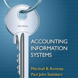 Test Bank for Accounting Information Systems, 12th Edition