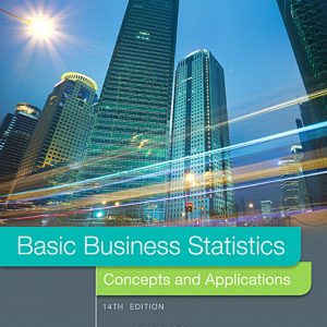Test Bank for Basic Business Statistics, 14th Edition