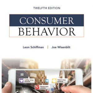 Buy Test Bank for Consumer Behavior, 12th Edition