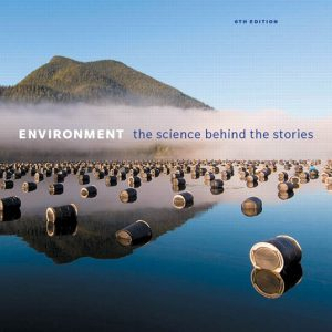 Test Bank for Environment: The Science Behind the Stories, 6th Edition