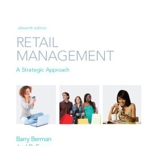 Buy Test Bank for Retail Management: A Strategic Approach, 11th Edition