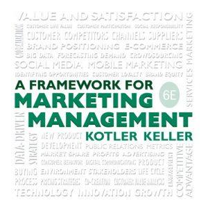 Framework for Marketing Management, 6th Edition