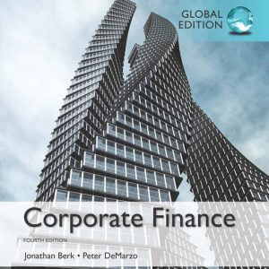 Test Bank for Corporate Finance – 4th Global Edition