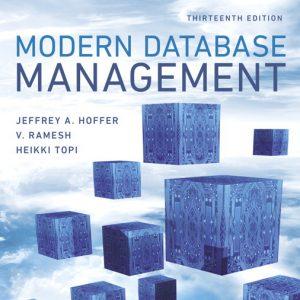 Buy Test Bank for Modern Database Management, 13th Edition