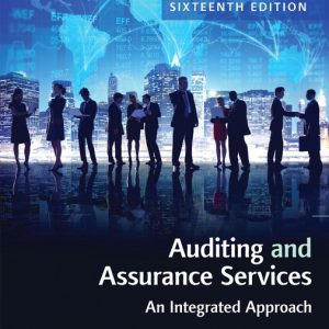 Test Bank for Auditing and Assurance Services, 16th Edition