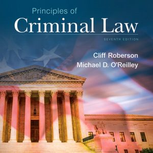 Test Bank for Principles of Criminal Law, 7th Edition download