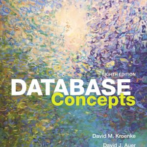 Test Bank for Database Concepts, 8th Edition